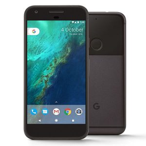 Google pixel xl black front back