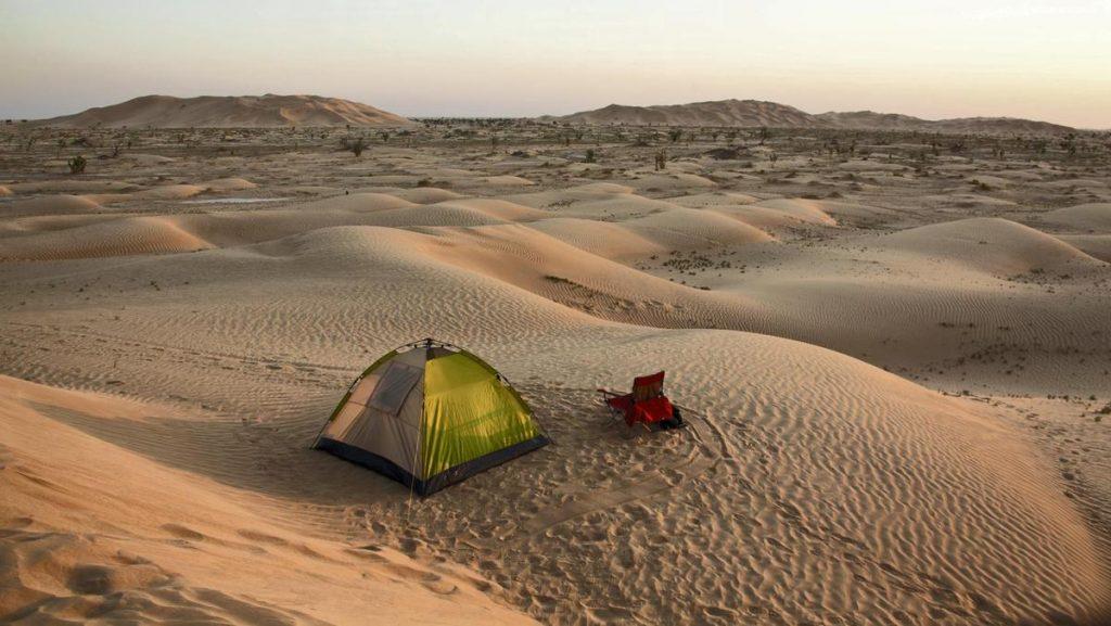 Camping in desert safari DUBAI