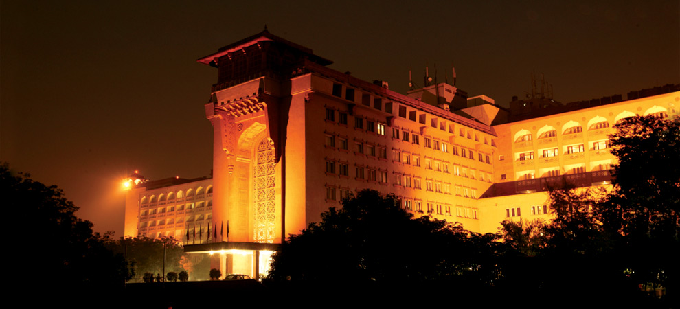 hotel ashok delhi exterior